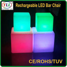 led light bases for crystal display kids light up toys plastic cube seating plastic cube seating