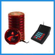 2015 Hot Selling Guest Table Waiting,New Numeric Coaster Pager ,Buzzer for Fast Food