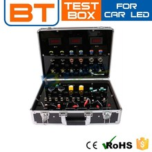 LED Trolley Demo Case, Display Case,Led Lamp Test Cars