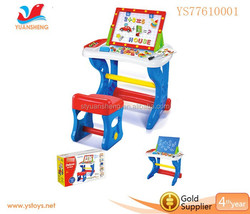 wholesale toys child's luxury creative art table with chair drawing table