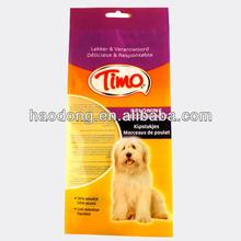 china maufacturer cstom pinted de arena hacia arriba para mascotas perro bolsa de alimentos