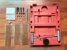 53PC Car tire repair tools kit , emergency car hand repair tools ,tubeless tire repair tools kit