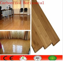 GOOD SALE Click and T&G Carbonized Horizontal Bamboo flooring,Solid Bamboo parquet