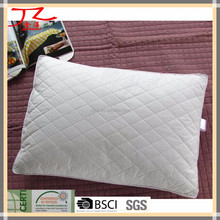 100% egyptian cotton fabric microfiber hotel pillow
