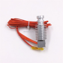 Direct Feed Reprap All Metal J-head Nozzle with Cable, High Temperature Resistance Extrusion Head