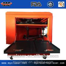 Cheap desktop CNC CO2 laser engraver operator MC6040