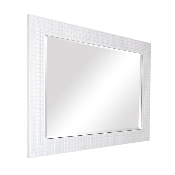 Custom interior designed or designer mirrors for bathroom buy custom designed mirrors interior - Specchio cornice bianca ...