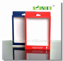 High quality Paper box with clear plastic window