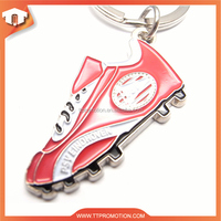 Promotional custom metal key ring vibrator
