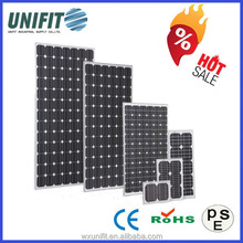 solar cell and solar panel,150w 12v solar panel with small photovoltaic cells