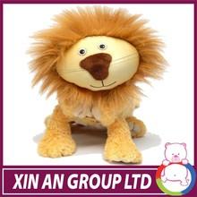 high quality cheap china plush lion toy animal toys