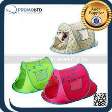 Custom Cheap Indoor Or Outdoor Pop Up Portable Waterproof Pet Tent Cat Cage Dog House