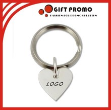 Custom Heart Shape Key Chain