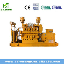 AC 3 phase output type 250kva coal bed gas electric power generation