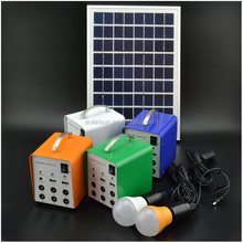 mini solar system with mobile charger