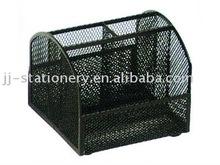metal mesh wire desk organizer