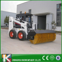 angle broom for skid steer loader/snow sweeper cleaning machines