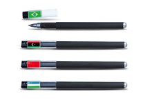 2015 most creative promotional ball pen/Professional customised logo of business use
