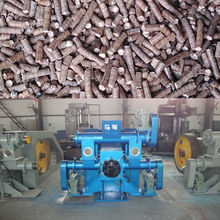 oak briquette machine used in the boilers of Paper Mills