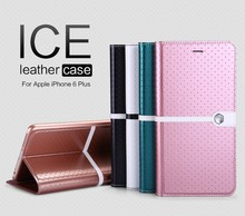2015 Nillkin New Ice Series PU Leather Flip Case smart Cover For iPhone 6