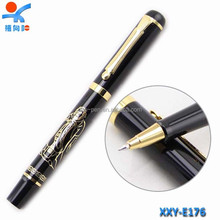 novelty gold print metal/business gift/factory price pen