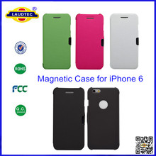 Magnetic Case for iPhone 6 4.7'' Inch, Flip Book Leather Hard Skin Case Cover for iPhone 6