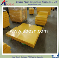 heavy loading hdpe lifting crane foot support pad/customized high quality outrigger pad