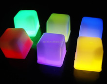 Water Submersible Decorative LED Ice Cubes SJIC-006
