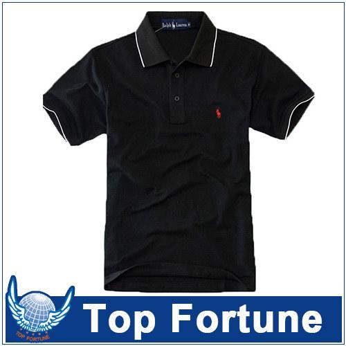 Custom mens black colour polo shirt dri fit polo shirts for Mens dri fit polo shirts wholesale