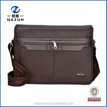 Hot sell new style fashion mens pu leather messenger bags