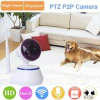baby care support ir cut ip camera 720p wifi
