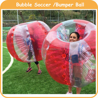 Cheap Human inflatable body zorbing football for kids and adults