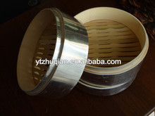 Mini bamboo steamers for sushi series