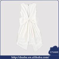 usake 2015 New Design Apparel Sexy lady Dress Woman Dress new arrival bow design backness sexy ladies prom dress