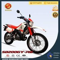 Chinese High Quality Street Sports Powerful Dirt Bike SD200GY-14B