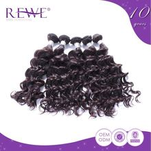 Advantage Price Attractive And Durable Virgin Zigzag Weft Human Hair 20 Inch Braiding