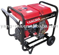 (3GF-ME) air cooled 4 stroke 7hps engine portable small 3kw 3kva open fame diesel generator