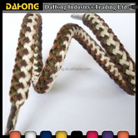 High quality round cotton waxed cord for bracelet garments drawstring