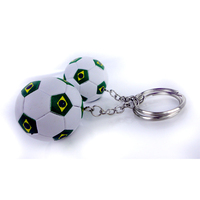 Brazil national team key chain keyring souvenir for Brazil World Cup Promotional Gifts