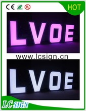 energy saving changeable led letter sign