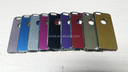 """Silver Metallic Hard Back Case Cover for Apple iPhone 6 4.7"""""""