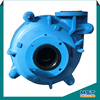 Horizontal rubber lined slurry pump for slurry