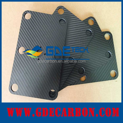 3K GDE new High strength Corrosion-resistant 100% carbon fiber sheet 2mm 10mm ,activated carbon sheet