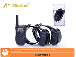 A+Trainer 330Y Remote LCD Durable Dog Training Suit Electric Shock Collar Pet Training Products