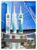 Construction General Glazing, curtain wall, silicone sealant, factory price