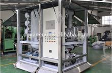 YUNENG ZJA Waste Transformer Oil Gas Water Separator / Dielectric Oil Purifier Machine