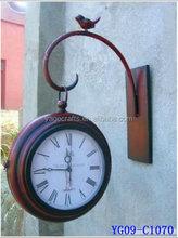 YG 09-C1070 High quality antique metal clock for home decor