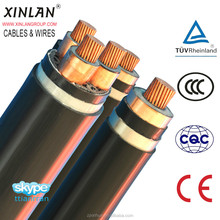 Medium Voltage Steel tape armored power cable XLPE cable YJV22 N2XSYBY