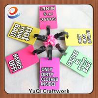 wedding favor luggage tag words luggage tag