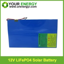 24 volt series flexible battery lifepo4 battery with long cycle life